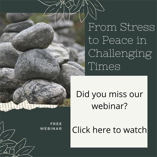 From Stress to Peace in Challenging Times Recording
