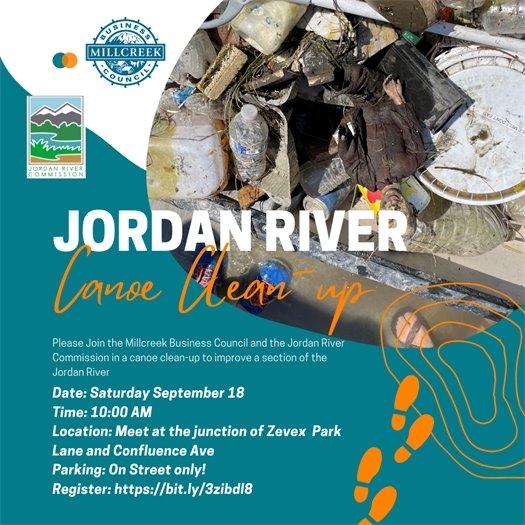 Jordan River Canoe Clean-up Event