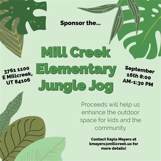 Mill Creek Elementary Jungle Jog