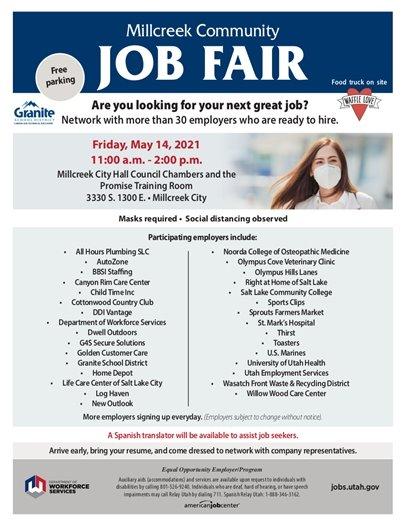 Millcreek Community Job Fair