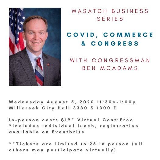 COVID, Commerce and Congress with Ben McAdams