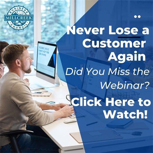Never Lose a Customer Again Webinar Recording