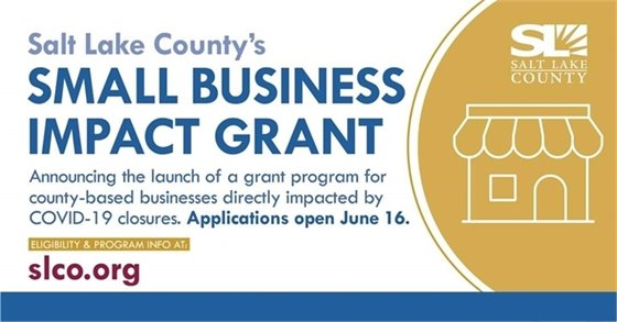 Salt Lake County's Small Business Impact Grant