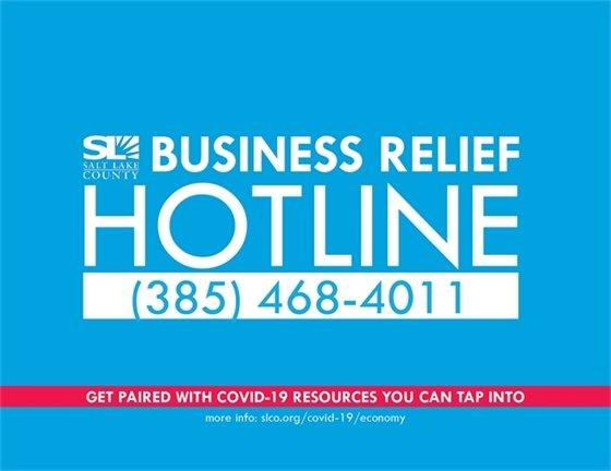 Business Relief Hotline 385-468-4011