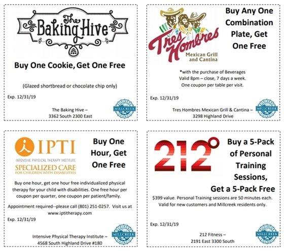 The Baking Hive Coupon, Tres Hombres Coupon, IPTI coupon, 212 coupon