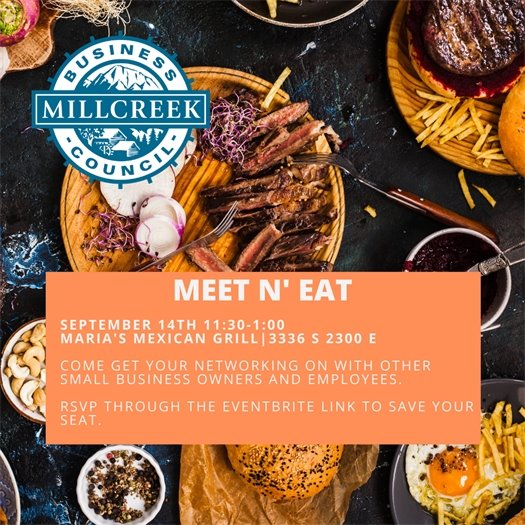 Meet n' Eat September 14 @ Maria's Mexican Grill