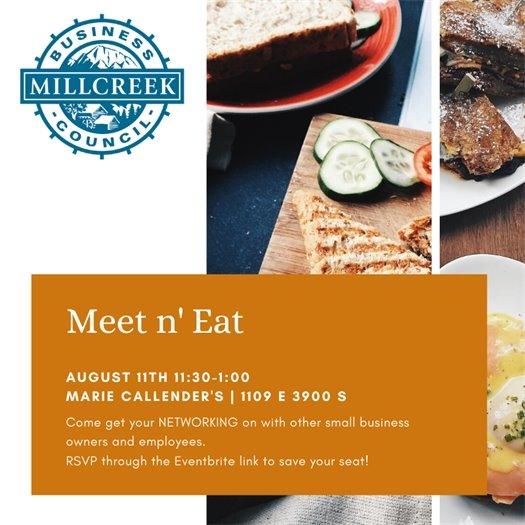 Meet n' Eat Marie Callendar's 11:30-1:00