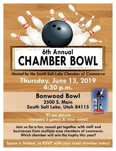 Chamber Bowl event flyer