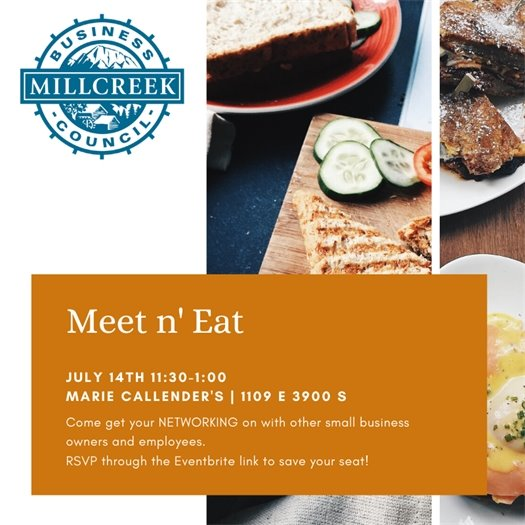 July 14 Networking Meet n Eat