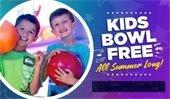 Kids Bowl Free at Olympus Hills Lanes!