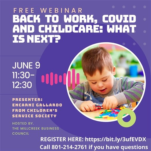 Back to Work, COVID and Childcare: What is Next?