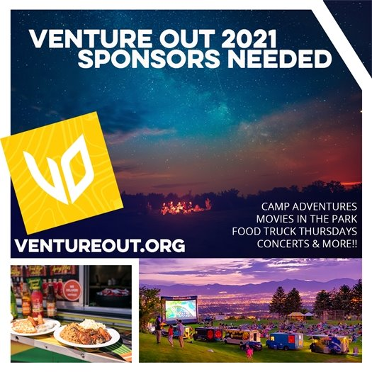 Venture Out 2021 Sponsors Needed!