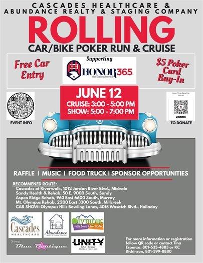 Rolling Car/Bike Poker Run & Cruise