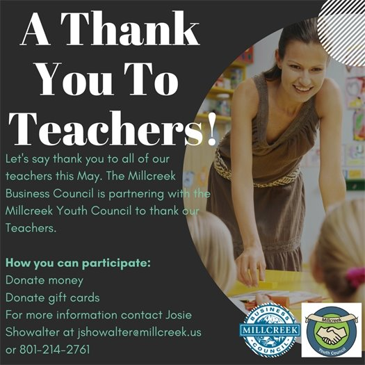 A Thank You To Teachers