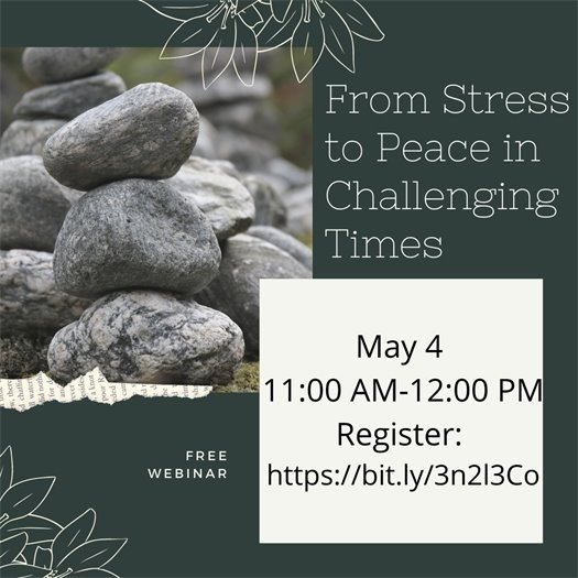 From Stress to Peace in Challenging Times