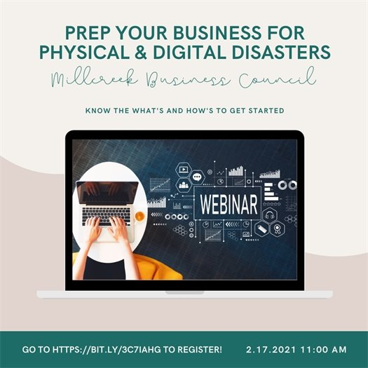 Prep Your Business for Physical & Digital Disasters