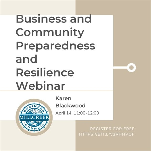 Business and Community Preparedness and Resilience Webinar
