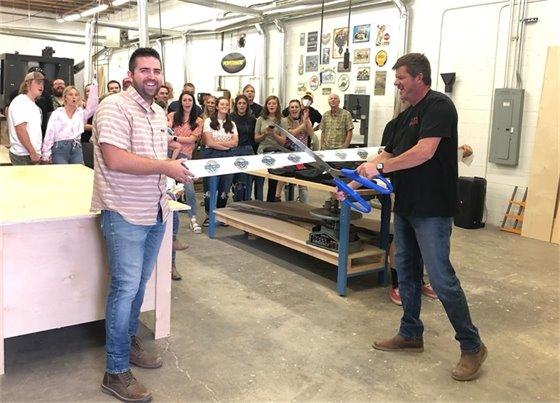 Community Woodshop SLC Ribbon Cutting