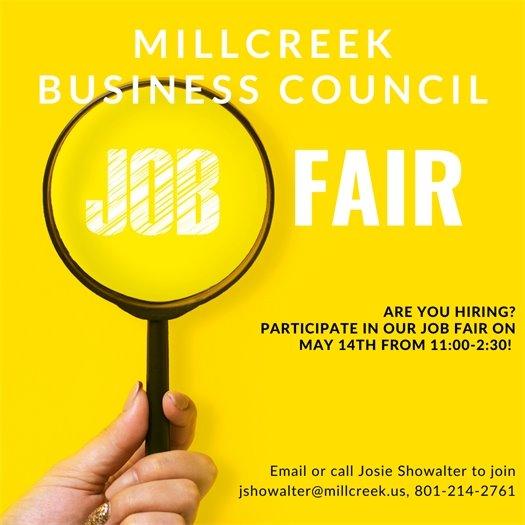Millcreek Business Council Job Fair