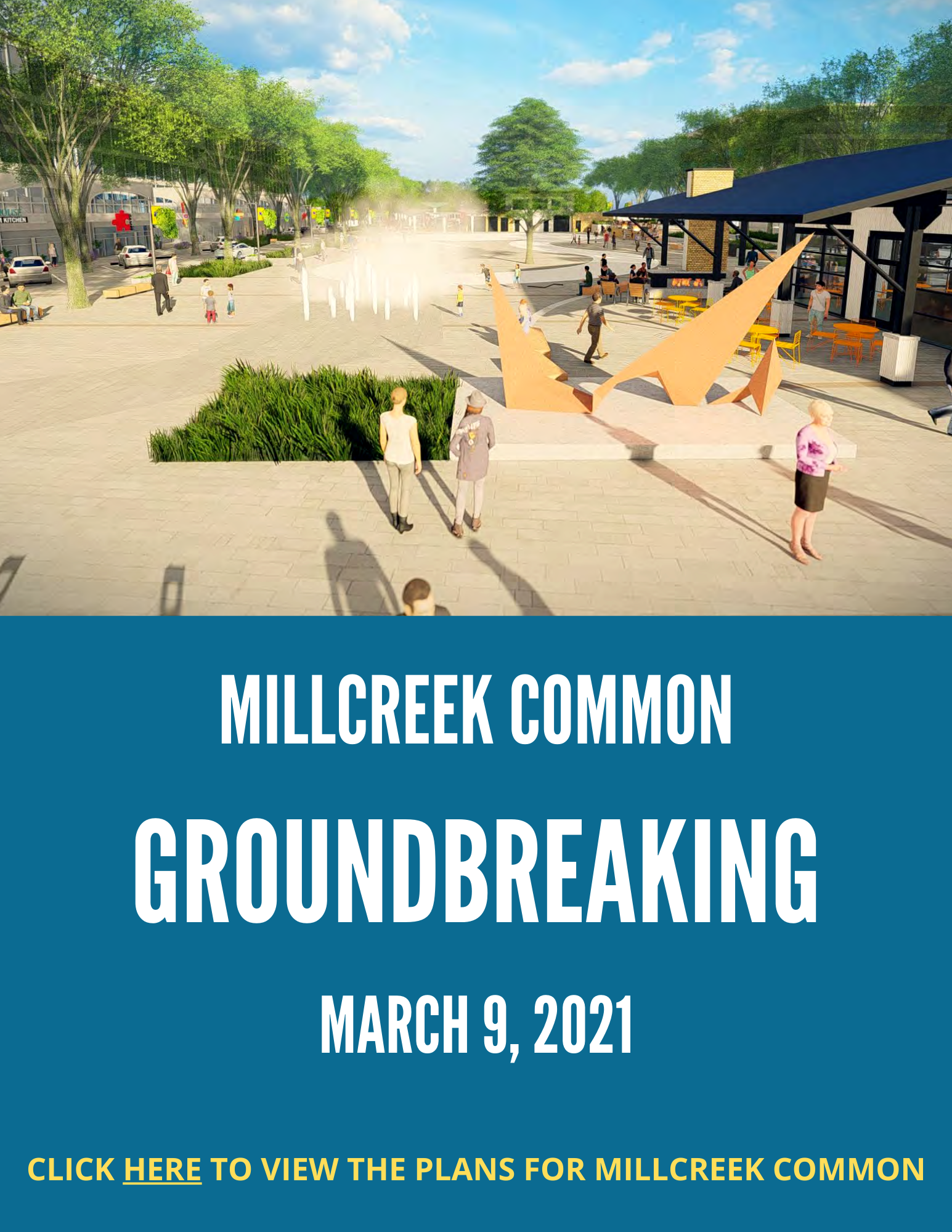Millcreek Common Groundbreaking
