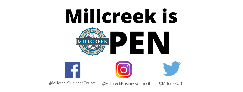 Millcreek is OPEN