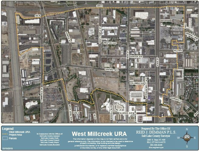 West Millcreek CRA map
