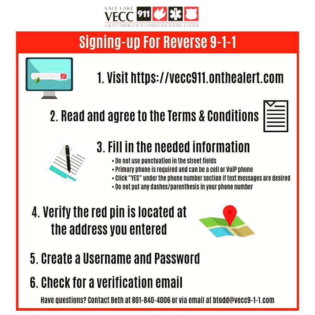 VECC Reverse Notifications instructions graphic