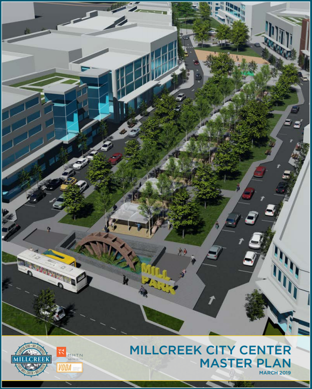 City Center Master Plan Cover image