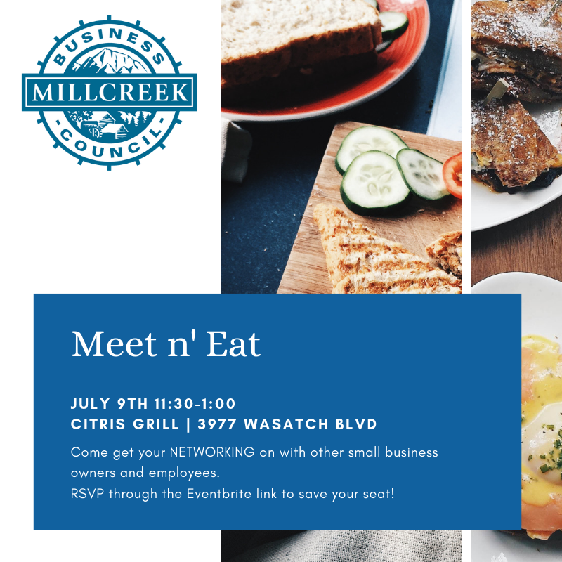 July 2019 Meet n Eat Opens in new window